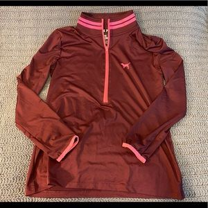 Victoria's Secret PINK quarter zip sweater